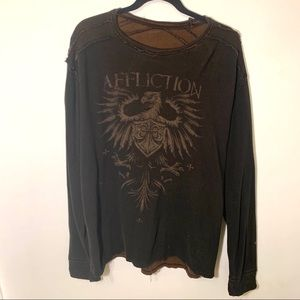 Affliction Shirts - Affliction reversible shirt men's size XXL